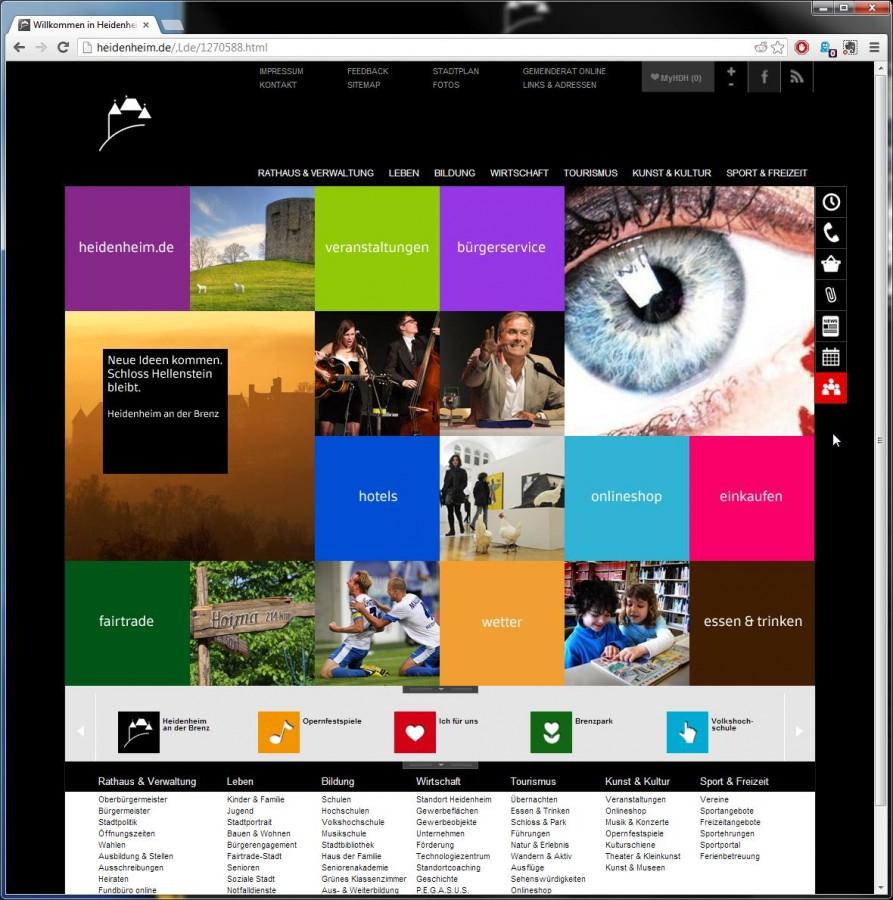Kachel design  Gedanken zur neuen Heidenheimer Homepage | Philipps Blog